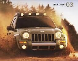 Details About 2003 Jeep Liberty Sport Renegade Limited Edition Large Dealer Sales Brochure