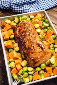 pork loin roast with vegetables julie