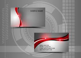 Modern Style Abstract Business Cards Vector 05 Free Download