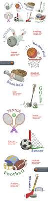 Bowling Machine Embroidery Designs Sports Embroidery Designs Free Embroidery Design Patterns