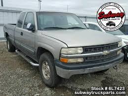 Used Parts 2000 Chevrolet Silverado 1500 5.3L LM7 4x4 | Subway Truck ...