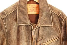 vintage leather levis biker jacket rn74847 m 40 26067