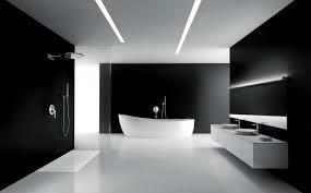 black bathroom. Image For White And Black Bathroom