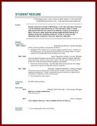 graduate school application resume template examples of graduate examples of student resume resume examples and resume builder