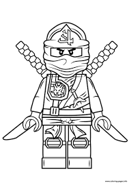 Coloring Pages Ideas Lego Ninjago Kai Coloring Pages Kids Page