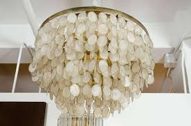 diy capiz shell chandelier ideas home throughout remodel 6