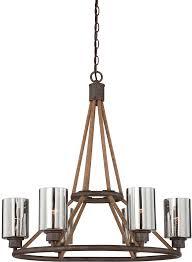 savoy house 1 5150 6 32 maverick artisan rust 6 light chandelier loading zoom