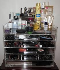 sherrieblossom icebox makeup organizer photos review blushing noir