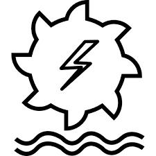 power generator icon. Unique Power Hydro Power Generation Free Icon Intended Power Generator