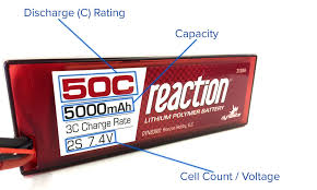Battery C Rating Chart A Guide To Understanding Lipo Batteries Rogers Hobby Center