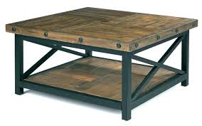 round industrial coffee table. Industrial Square Coffee Table Large . Round
