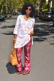 style pantry printed tunic diy lace bell bottom pants