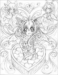 Small Picture Anime Coloring Pages Various Anime Colotring Pages