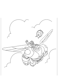 Big Hero 6 Coloring Pages For Toddlers Baymax 284 Get Coloring Page