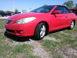 2006 TOYOTA CAMRY SOLARA for sale in Grand Prairie, TX 75050