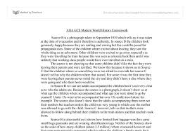 aqa gcs modern world history coursework gcse history marked by  document image preview