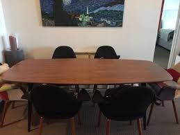 retro dining table and chairs sydney. dining table - modern walnut and black metal retro chairs sydney t