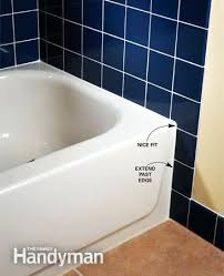 how to tile a bathtub tile layout for tubs and showers the family handyman re tile