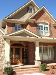 exterior brick siding color combinations. beautiful rock siding for houses : traditional exterior with brick combination orange brick. this stone would be perfect existing color combinations a