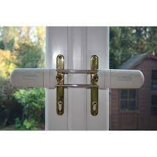 secure patio french doors