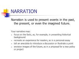 rhetorical modes a rhetorical mode is a strategy a way or method 3 narration