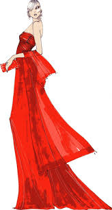 103 Best Sketching Images On Pinterest Dress Sketches Fashion