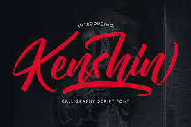 Star wars is an epic space flim series created by george lucas. Kenshin Font By Jehoocreative Creative Fabrica In 2020 Free Script Fonts Calligraphy Fonts Photography Watermark