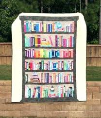 Bookshelf Quilt Pattern Best Bookcase Quilts Bookshelf Quilt By Thresh Quilting Harry Potter