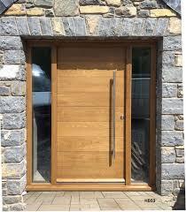 front door. Contemporaryfrontdoor-hb53-oak Front Door D