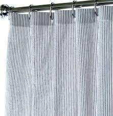 enchanting black and white fabric shower curtain fabric shower curtains black seer er to enlarge