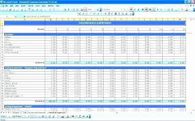 Bi Weekly Budget Template Fresh Household Bills Template Excel Image