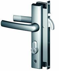 security door locks. Lock, Ult. XC Sec. Door Hinged - Brown, Parrot Beak Security Locks