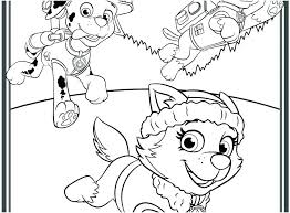 Chase Paw Patrol Free Coloring Pages To Print Halloween Printable