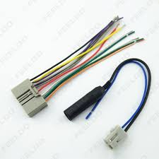 feeldo car accessories official store car audio cd player radio stereo wiring harness 2006 silverado picture of car audio cd player radio stereo wiring harness adapter plug for honda 06