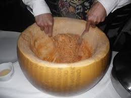 giant cheese wheel. Beautiful Giant This Is A Giant Wheel Of Cheese That They Light On Fire And Pour Toss  Pasta Into Until Covered In Gooy Cheese Saw This Last Night  Throughout Giant Cheese Wheel