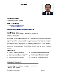 Resume Ahmed Mohammed Wahbi Professional Landscape Engineer Mobile: +  971551922843 E-mail: ahmedwhpey17 ...