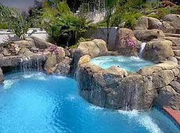 inground pools with waterfalls and hot tubs. Cool Houses | Pools-1-4 House Ideas Pinterest Hot Tubs, Tubs And Backyard Inground Pools With Waterfalls R