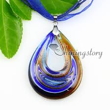teardrop silver foil with lines