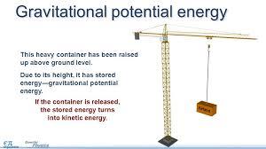 gravitational potential energy