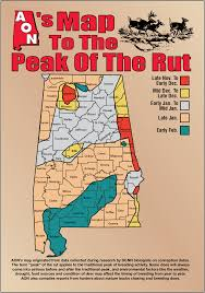 Aons Map To The Peak Of The Rut