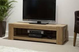 trend solid oak plasma tv unit oak furniture uk intended for wooden tv stands
