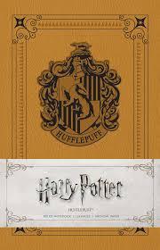 harry potter hufflepuff ruled notebook 9781683832867 hr