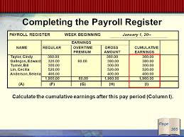 Glencoe Mcgraw Hill Payroll Computations Records And Payment