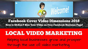 facebook cover video dimensions 2018 how to really size your video on your facebook business page