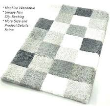 gray and white bath rug gray and white bathroom rugs link below this image for gray and white bath rug