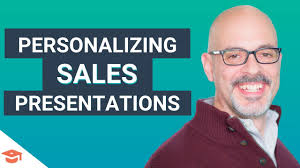 Sales Presentaion Sales Strategy Creating A Personalized Sales Presentation