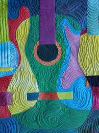 guitar quilt - Google Search | Sewing- quilts | Pinterest ... & Quilt Top New Definition Adamdwight.com