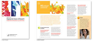 cultiva studio  graphic design   portfolio   strategic plan    brochure designed for a large government health agency    of a series of brochures designed for them which included their strategic plan book and the