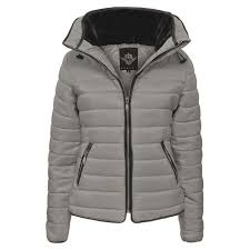 Ladies Kids Bubble Fur Collar Quilted Padded Girls Thick Warm Coat ... & Ladies-Kids-Bubble-Fur-Collar-Quilted-Padded-Girls- Adamdwight.com