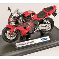 «Игрушка модель <b>мотоцикла Welly</b> Honda CBR1000RR <b>1:18</b> ...
